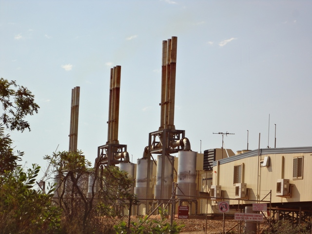 gas fired power producing tonnes of the fertilizer CO2