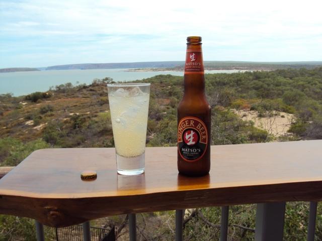 Matso's Ginger Beer over ice
