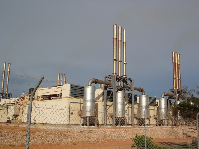 gas fired power station