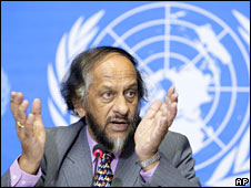 High priest of the IPCC and smut novelist of 2013