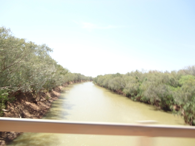 January, 2013, Fitzroy River channel ...