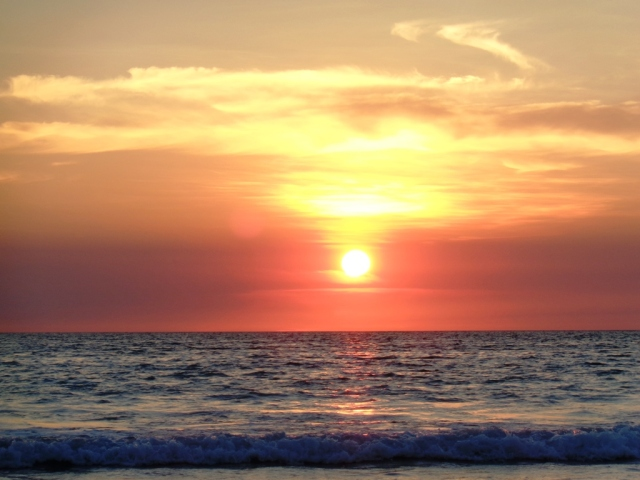 sunset off cable beach