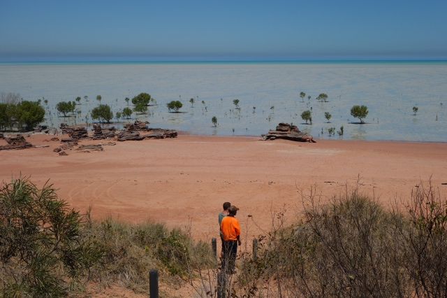 The opposite side of Roebuck Bay near Broome Bird Observatory