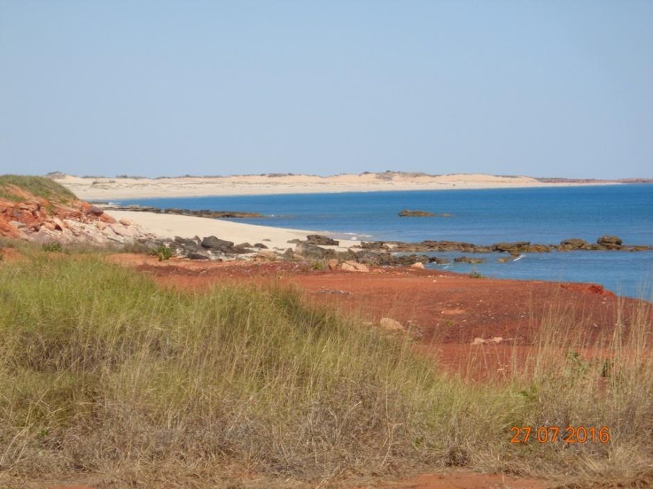 dinosaur coast on Dampier Peninsula